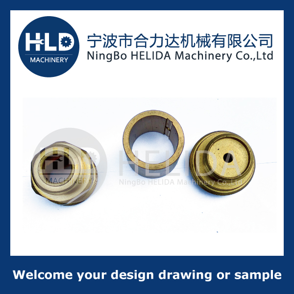 Machined parts-Material is Brass